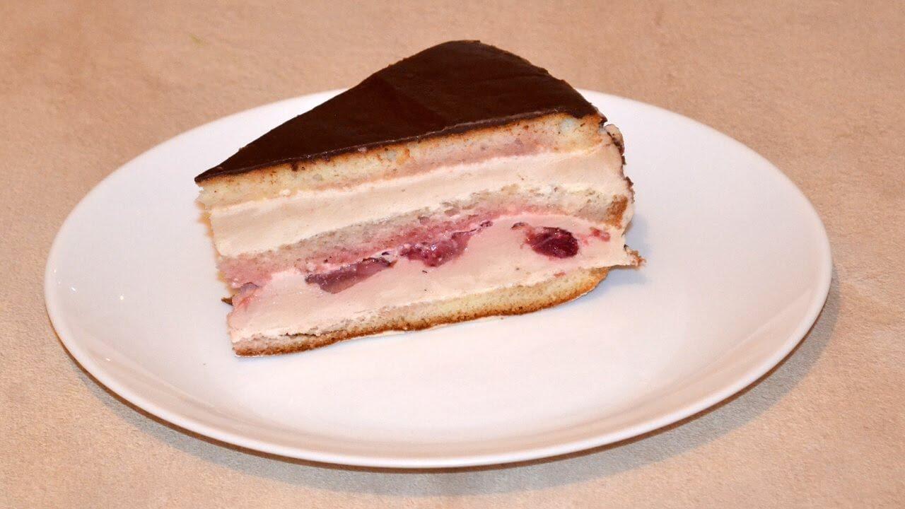 Йогуртовое суфле для торта рецепт